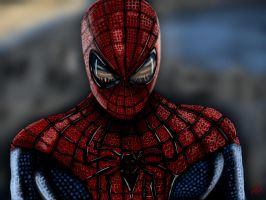 The amazing Spider-Man by SerggArt