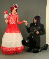 The Red Queen and the Mad Hatter 3 by MajesticStock