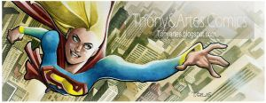 Super Girl - Panel Blog by taguiar