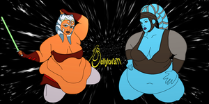 Star Wars BBW by bellylov3r77