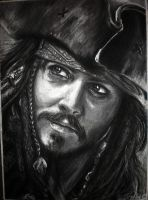 Captain Jack Sparrow by DynastJC