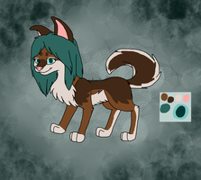 Fluffy Canine reff by AutumnMiracles