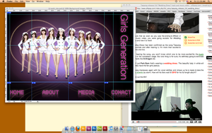 Soshi Site homepage by Momo-Kola
