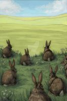 Watership Down by aljanny