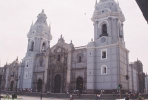 Lima s Cathedral by Sorello