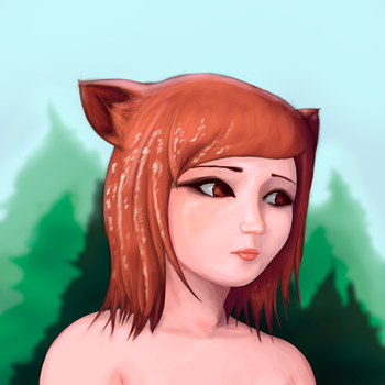 Pudu Girl by DonBarco
