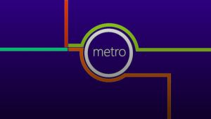 Metro wallpaper by V-E-G-A