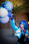 Blue Balloons by MagentaTeam