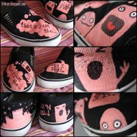 "Shoes ""That's how I roll"" by Feliesje"