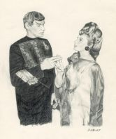 Sarek and Amanda by Automateer