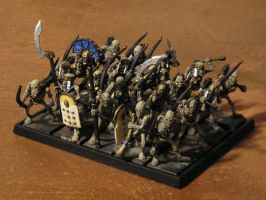 More Tomb Kings Archers by gowsk