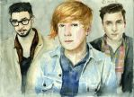 Two Door Cinema Club by bergamotnanana