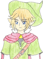 -onisuu Summer 2013 Entry- Mage Link Portrait by Chicken-Yuki