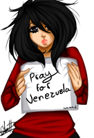 Pray For Venezuela by SakuraKiel