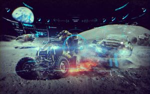 MotorStorm MOON Concept Art by dimadiz