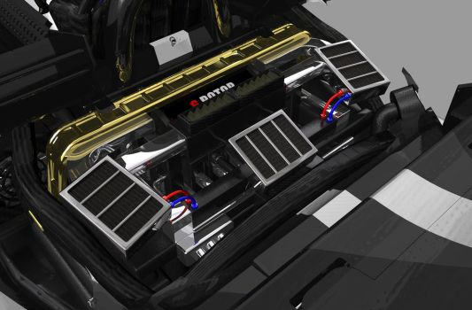 f1 style car engine bay by badboy2kxxx