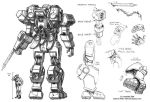 SGD Fed Mecha Back by Mecha-Zone