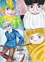 Rise of the Guardians by LeafofDeath