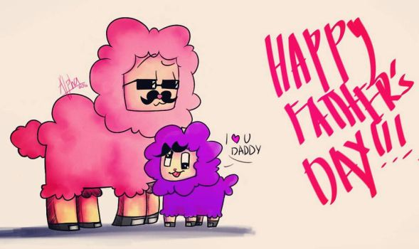 Happy Father's Day!!! by Alpha-Gamer666