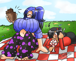 Picnic Manic - Commission by Sanone