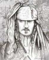 Captain Jack Sparrow by Elfsire