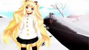 - W I N T E R - by mmd-lover