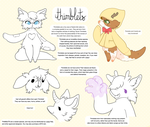 (CS) thimblets, species reference! by loppyrae