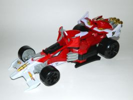 Turbo Falcon Zord - After by LinearRanger