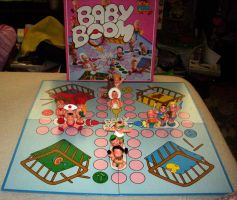 Magic Diaper Babies board game toys of the 90s by kratosisy