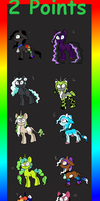 -:2 Point Pony Adopts:- by Chickfila-Chick