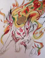 Shiranui Amaterasu by kennyfrikkindied