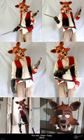 Pirate Cove Foxy - Mask by wolfjedisamuel