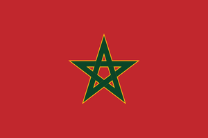 Royal Flag of Morocco by Aminebjd
