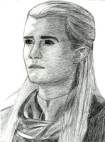 Legolas of Mirkwood by AinuLaire