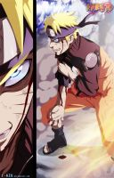 Naruto 629 - Protect All! by i-azu