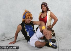 Neku and Shiki First Shot by R-Legend