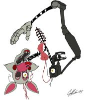 Foxy 2.0- The Mangle by TransformNightMare