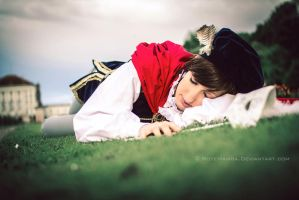 Disney - sleeping prince by YoruNoYami