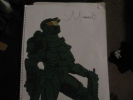 Master Chief by quel122