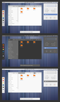 Numix-flatstudio gtk 3.12, 3.14 and 3.16  theme by Dirruk1