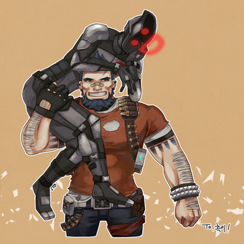 OTP in Borderlands2 by GhostN