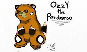 Ozzy the Pandaroo - Tyson.J by fabman132
