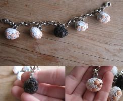 Black Sheep Charm Bracelet by PunkTrunk