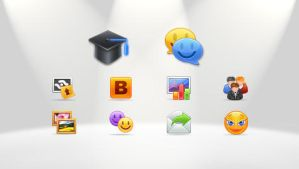 icons for web by rachel1009