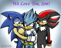 The Official Sonadow Lovechild by anniemae04