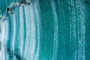 Concrete Wall Aqua Side View 2 by KameleonKlik