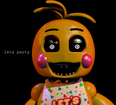 Toy Chica - Lets Party by Megasemiguy