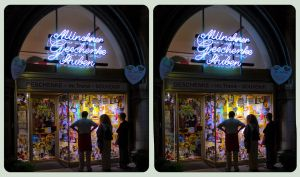 Souvenir Shop Munich 3D ::: HDR Cross-View by zour