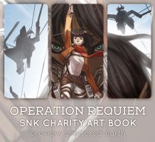 Operation: Requiem [SNK Charity Artbook] Preview by Shattered-Earth