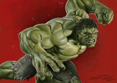 HULK! by JaumeCullell